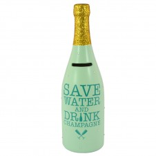 Champagne Bottle - Save Water