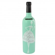 Lifes Too Short For Cheap Wine - Bottle Of Dreams Money Box
