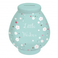 Little Wishes Money Pot: Floral