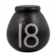 Celebrate in Style 18th Birthday Pots of Dreams Black