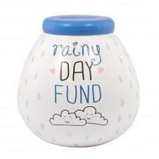 Rainy Day Fund Pots of Dreams Blue Top