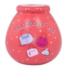 Handbag Fund Pot of Dreams RED