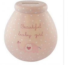 Beautiful Baby Girl Pot of Dreams