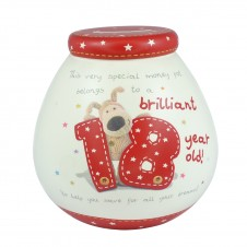 Boofle Pots of Dreams 18th Money Box