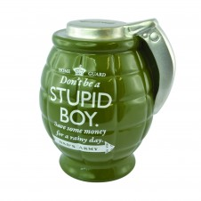 Dads Army - Grenade Money Pot - Stupid Boy Save For A Rainy Day