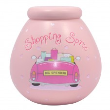 Shopping Spree Pot of Dreams  Pink