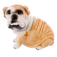 Fun Bulldog Design Ceramic Money Box