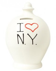 Terramundi I Love New York Money Pot