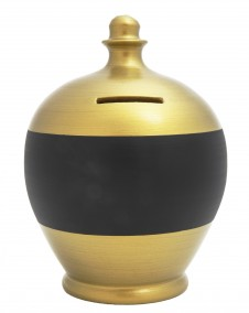 Terramundi Gold Blackboard Money Pot