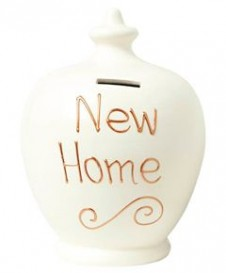 Terramundi New Home Money Pot White
