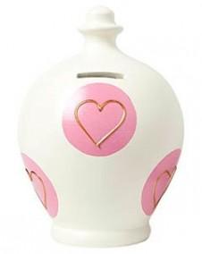 Terramundi:Love Heart Cream with Pink Heart