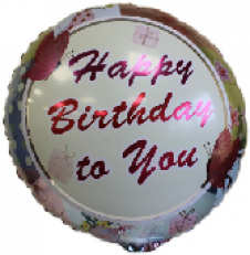 Happy BirthdayTo You Foil Balloon