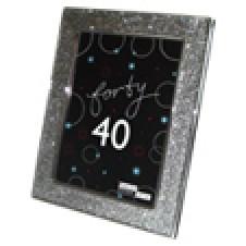 40th Birthday Gift Frame