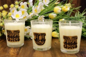You can personalise these candles