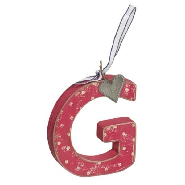 love home alphabet letter g