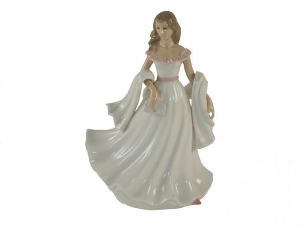 Lynsey Lady Figurine By Annie Rowe Leonardo Collection