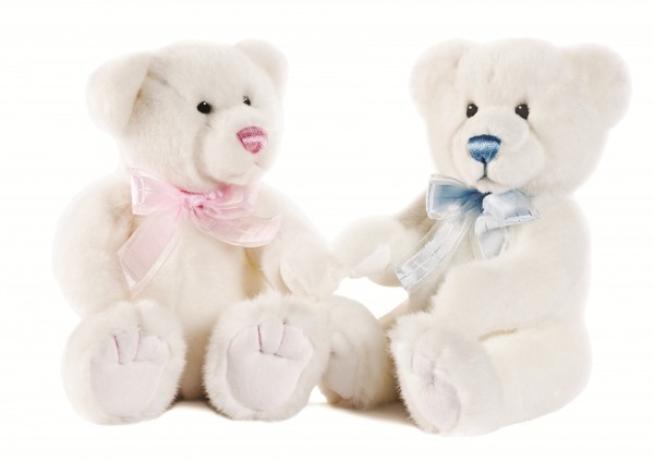 Teddies For Boys And Girls Lovely Blues And Pinks