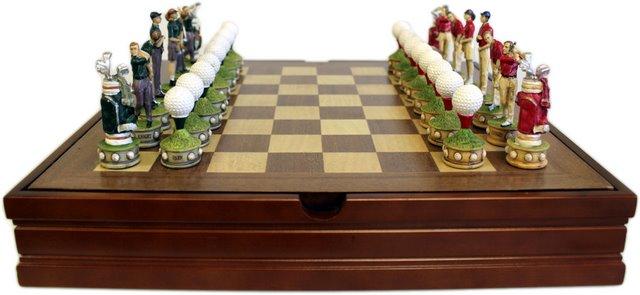 Themed Chess Set Golfing Set