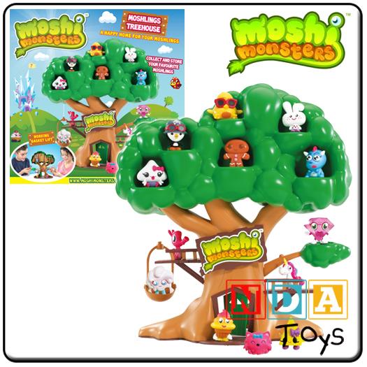Moshi Monsters Moshlings Treehouse